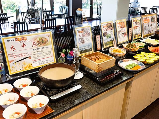 ホテル法華クラブ熊本 朝食バイキング
