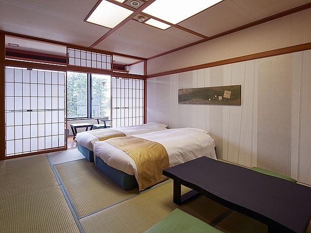センチュリオンホテルリゾート&スパテクノポート福井 和室ツインベッド 28.5㎡