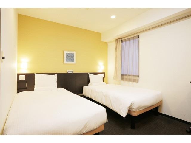 【茅場町】スマイルホテル東京日本橋 ツインルーム