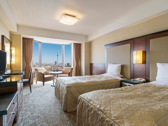 【浅草】浅草ビューホテル ツイン