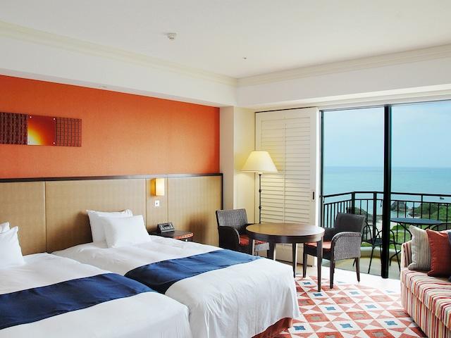ホテル日航アリビラ プレミアツインルーム一例