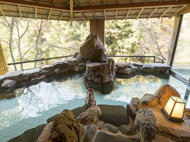 セレクトグランドホテル加賀山中 温泉露天風呂