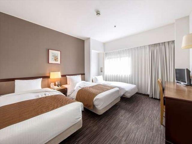 ホテル法華クラブ仙台 スタンダードツインルーム+エキストラベッド 20.2m2