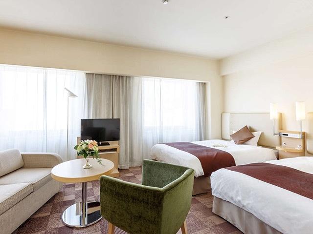シティプラザ大阪 スーペリア 34㎡ 3-4名1室(一例)