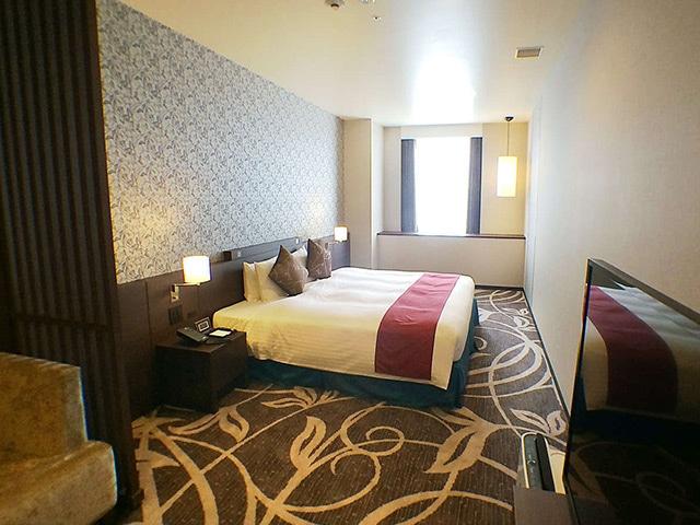 クインテッサホテル大阪ベイ(旧ラ・レゾン大阪) デラックスダブル 45㎡(一例)