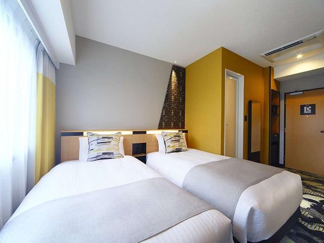 京都タワーホテルアネックス スタンダードツイン 16㎡(一例)