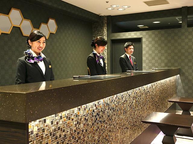 京都タワーホテル フロント