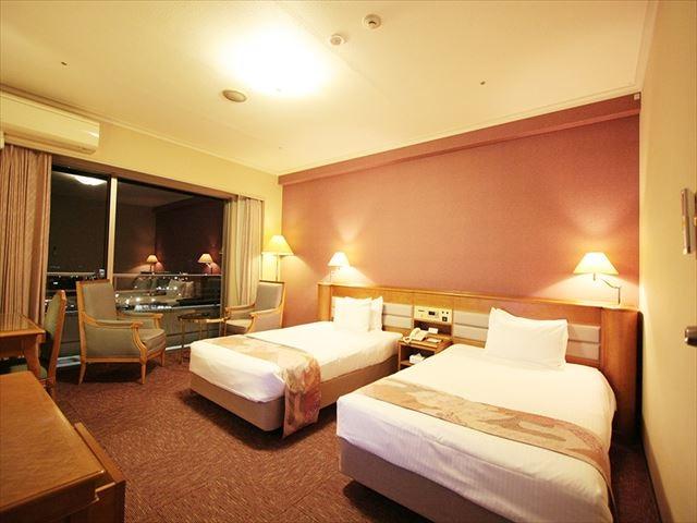 仙台ヒルズホテル スタンダードツイン 35㎡