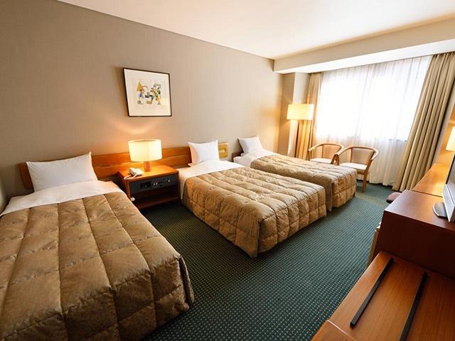 ホテルロイヤル盛岡 トリプルルーム