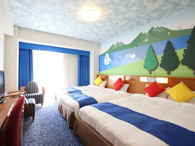 ホテル京阪ユニバーサル・シティ コンフォートルーム3-4名 27㎡(一例)