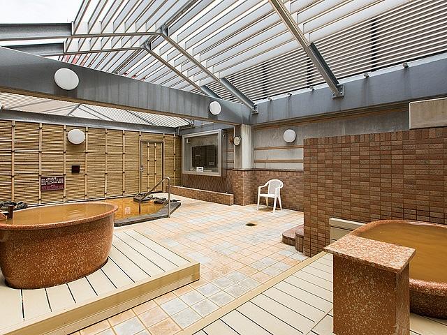 プレミアホテル-CABIN-札幌 天然温泉大浴場「ススキノの湯」露天風呂