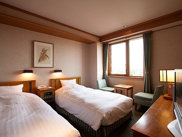 森のスパリゾート 北海道ホテル スタンダードツイン(日高ウイング)