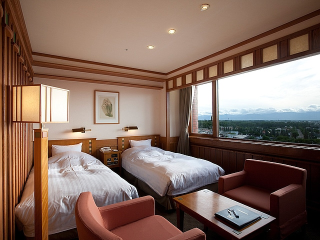森のスパリゾート 北海道ホテル スーペリアツイン(日高ウイング)