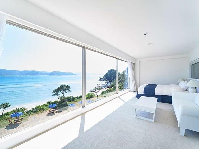 THE SCENE amami spa&resort デラックスホワイトダブル 46㎡