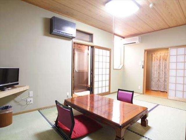 ゆふいん お宿 野蒜山荘 露天風呂付き客室和室2間メゾネットタイプ「やまなみ」