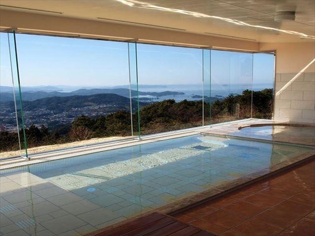 弓張の丘ホテル 展望浴場