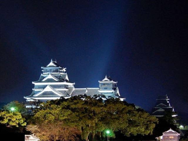 アークホテル熊本城前 熊本城ライトアップ