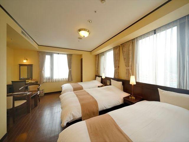 奄美サンプラザホテル トリプルルーム 26㎡
