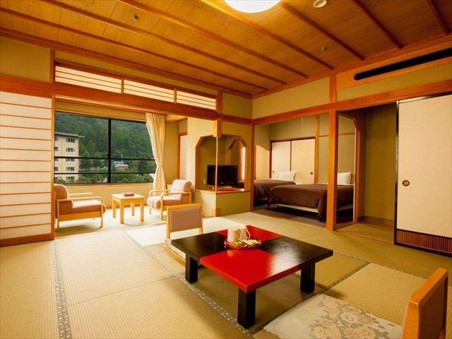 セレクトグランドホテル加賀山中 もみじ亭和洋室 12.5畳+6畳