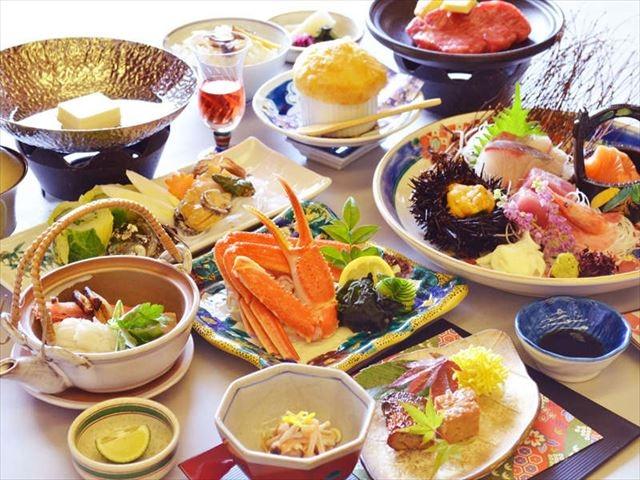 山代温泉 ホテル大のや 夕食イメージ