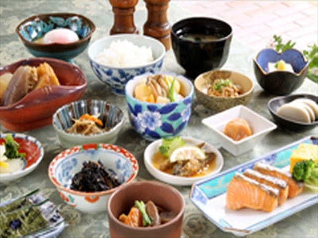 ホテルニュータンダ 朝食イメージ(和食)
