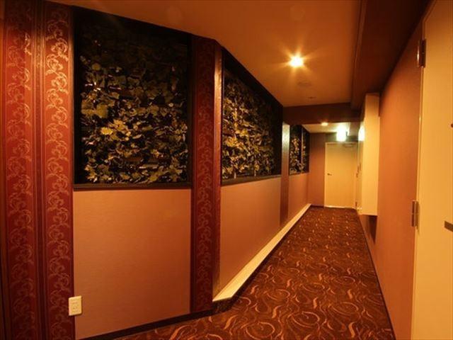 ホテルニューガイア博多 客室廊下