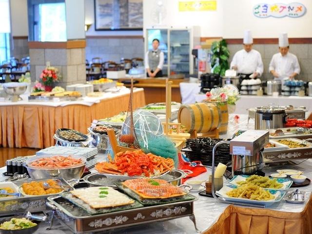 十勝幕別温泉グランヴィリオホテル レストラン「ロイヤルグリーン」