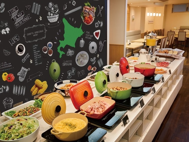 Tマークシティホテル札幌 レストラン 和洋バイキングメニューイメージ