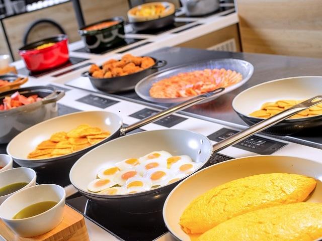 アートホテル旭川 朝食バイキング「展望レストランMINORI」