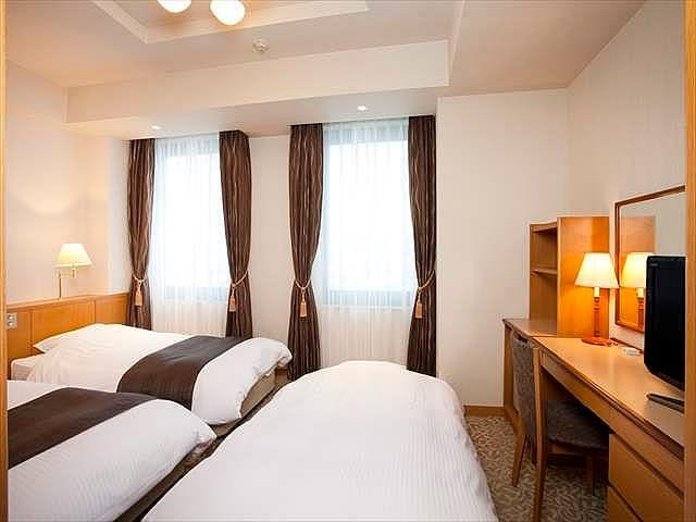 ホテルノルド小樽 3名1室 一例