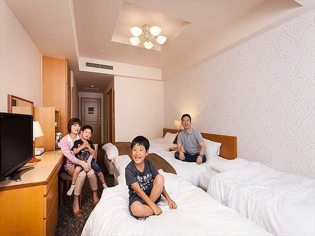ホテルノルド小樽 4名1室 一例