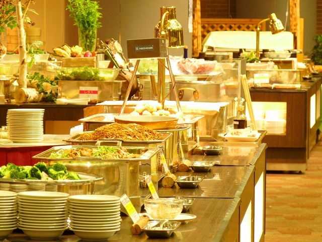 新富良野プリンスホテル 朝食ブッフェ