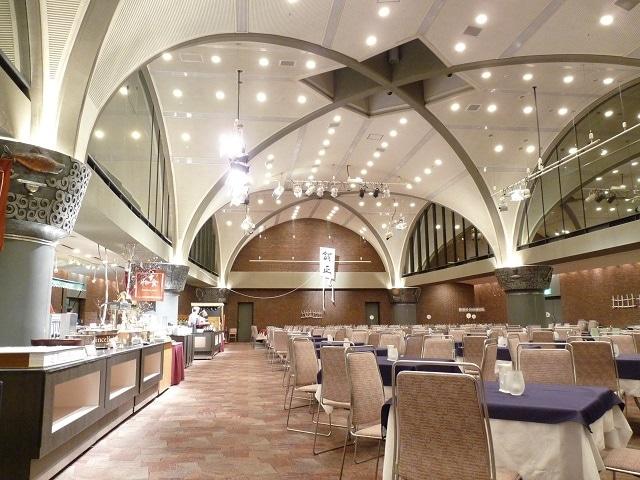 新富良野プリンスホテル 食事会場