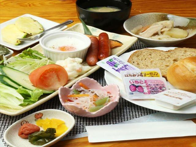 奄美大島ホテルリゾート コーラルパームス 朝食イメージ