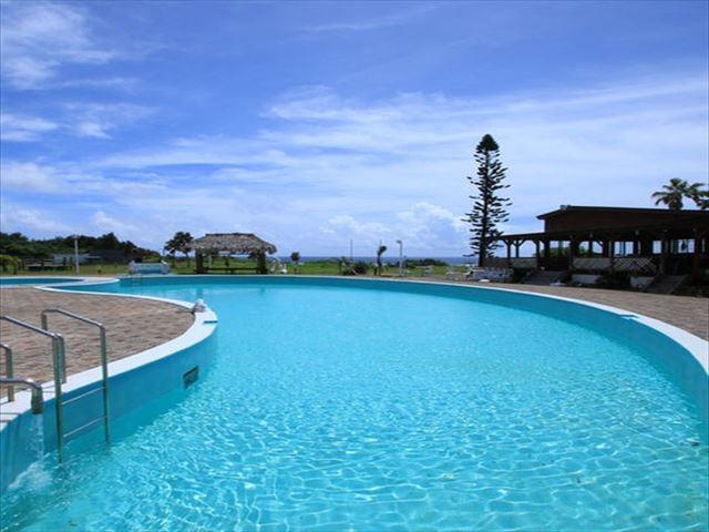 奄美大島ホテルリゾート コーラルパームス 屋外プール