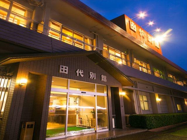 屋久島 田代別館 外観(夜)