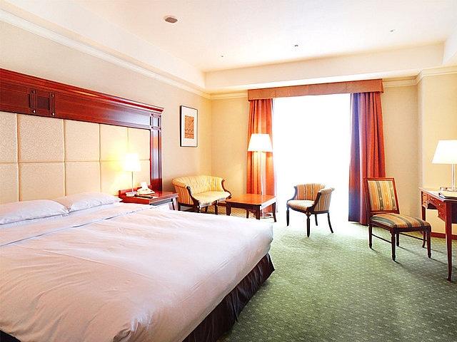 プレミアホテルーTSUBAKIー札幌 ダブルルーム デラックスルーム リバービュー 40㎡ ベッド幅180㎝