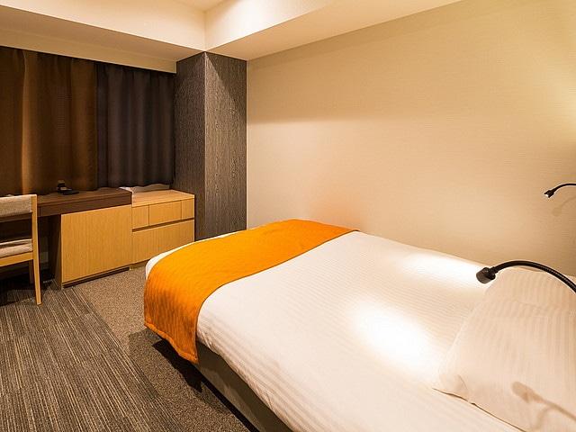 ラ・ジェント・ステイ札幌大通 スーペリアシングルルーム 18㎡ ベッド幅140㎝