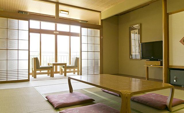 湯元ホロホロ山荘 和室 一例