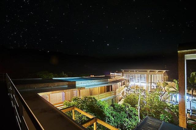 西表島ジャングルホテル パイヌマヤ 屋上からの星空