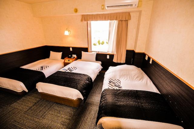 アパホテル<石垣島> ツインB(一例) 19.15㎡