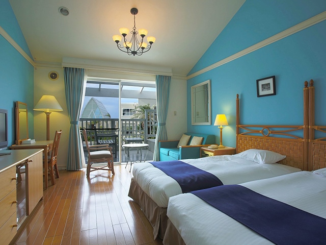 オクマ プライベートビーチ & リゾート パームコテージ客室一例