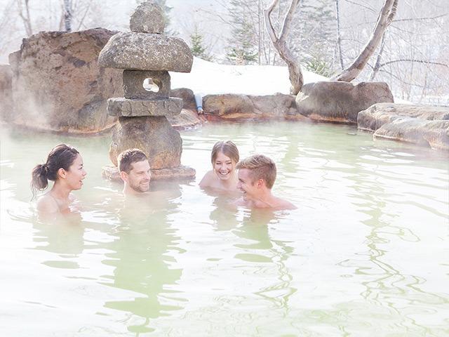 ニセコグランドホテル 温泉混浴
