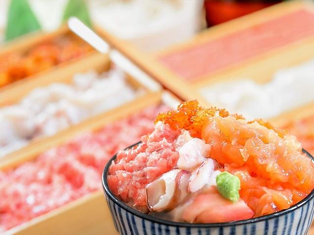 ホテルマイステイズプレミア札幌パーク 朝食 和洋バイキング 勝手丼