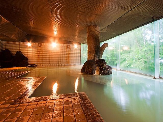 田沢湖高原温泉 プラザホテル山麓荘 大浴場
