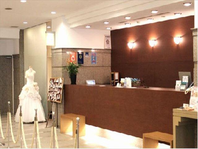 グランプラザ中津ホテル フロント
