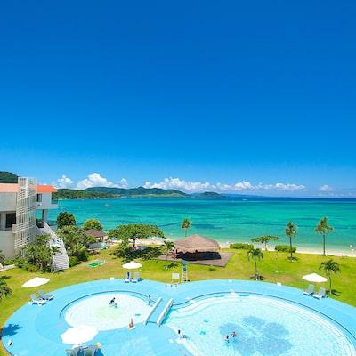 【夏休み】プールのある海沿いホテルで泊まる子連れおすすめ石垣島旅行イメージ