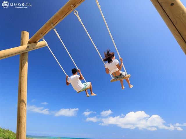 はいむるぶし はいむるぶしビーチ(ブランコ)