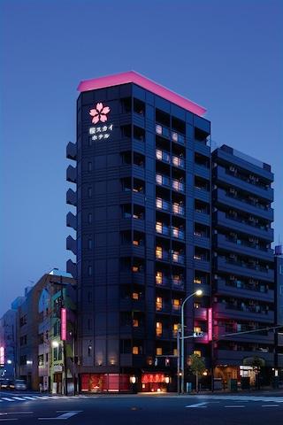 【錦糸町】SAKURA SKY HOTEL(桜スカイホテル) 外観