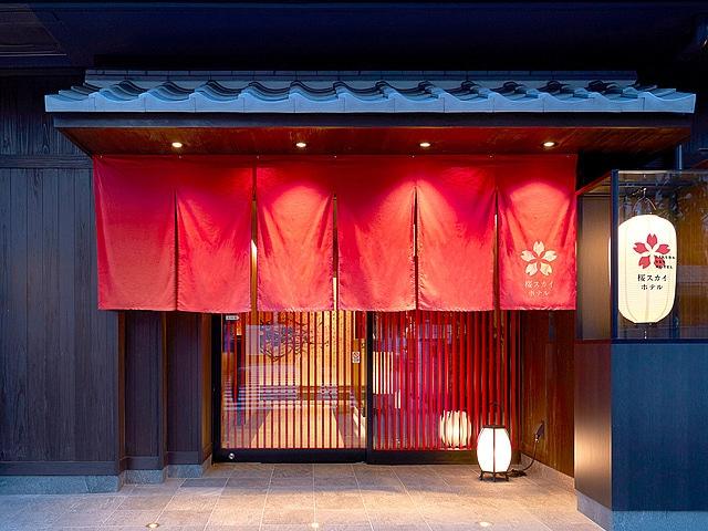 【錦糸町】SAKURA SKY HOTEL(桜スカイホテル) エントランス